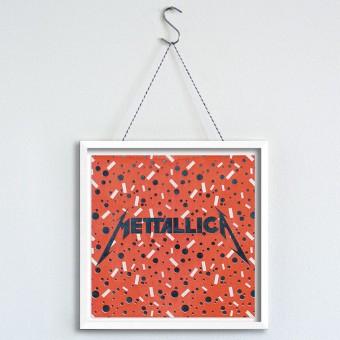 """MEAT LOVE """"Mettallica""""  Fleisch und Musik Riso Drucke von Black Matter"""