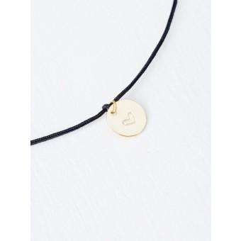 Oh Bracelet Berlin - Nylonarmband mit handgeprägtem Herz