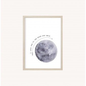 Kruth Design POSTER / MOON
