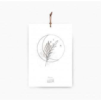 Kruth Design KALENDER 2020 / MOON