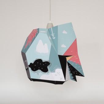 Wanbli Large X BOICUT – Ein Lampenschirm, ein Poster oder etwas Anderes