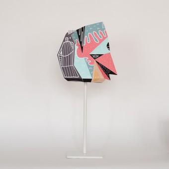 Wanbli Small X BOICUT – Ein Lampenschirm, ein Poster oder etwas Anderes