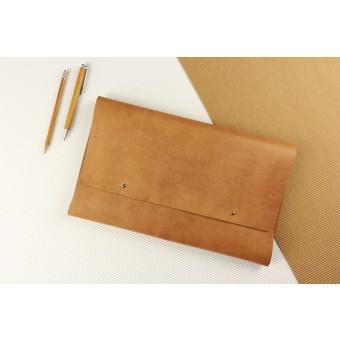 """Alexej Nagel Elegante MacBook 12"""" Hülle aus Vintage Leder [V]"""