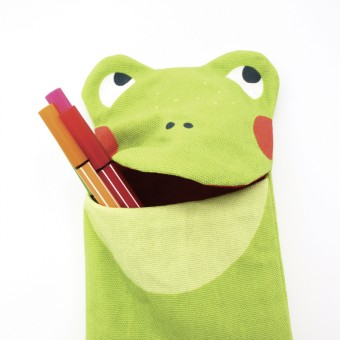 julica-design zookids Stiftemäppchen Froggi Frosch