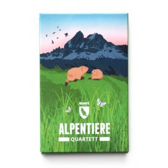 Alpentiere Quartett – Marmota Maps