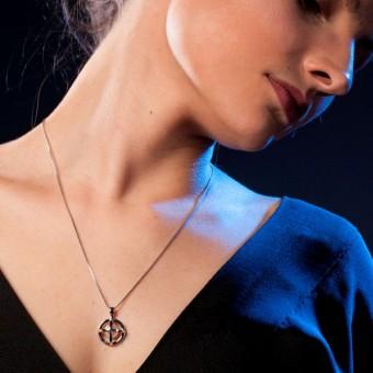 YOURS TO KEEP - Perlenkette 2.0 - mittellange Silberkette mit Perlenanhänger