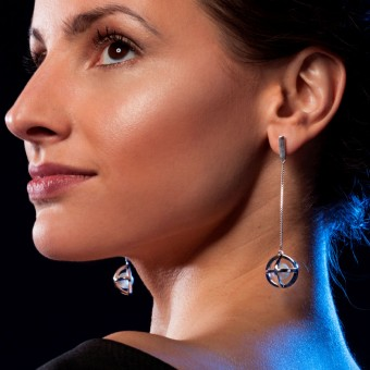 YOURS TO KEEP Perlenohrring 4.0 lange Ohrringe mit Süßwasserperle