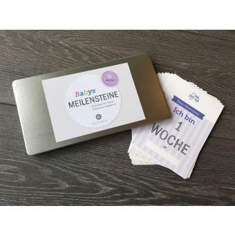Design Verlag Baby Meilensteine | Baby Karten zur Geburt