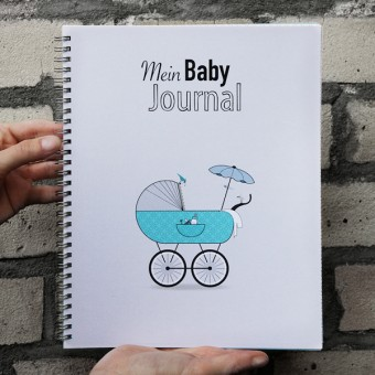 kleiner mensch Mein Baby Journal (Junge)