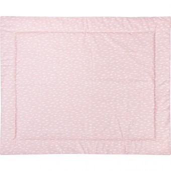 MEINE LIEBE – KRABBELDECKE POWDER RAIN ROSE 90x110cm
