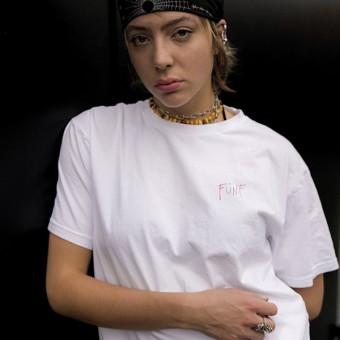 Melukis Fünf T-shirt White