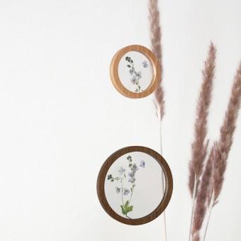 """Runde Bilderrahmen magnetisch - """"Zirkular Mobiles"""" Set + Acrylglasscheiben von Lumenqi"""