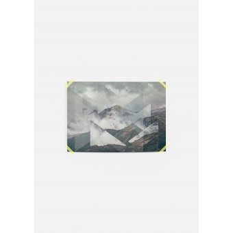 JOE MANIA / Modern Artprint Poster / Landscapes Scattered 2 Nevado del Ruiz