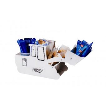 Milch und Zuckerspender Bagger / Stiftehalter von MOKEY