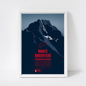 Marmota Maps – Monte Argentera - Bergdruck