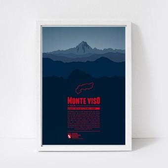 Marmota Maps – Monte Viso - Bergdruck