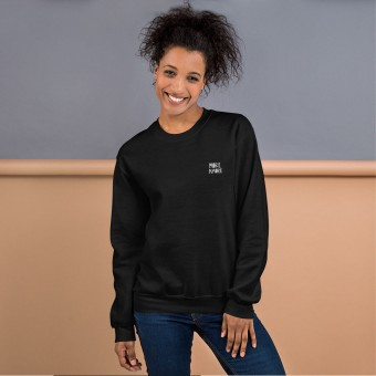 Love is the new black — More Amore / Unisex Sweatshirt