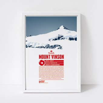 Marmota Maps – Mount Vinson - Bergdruck