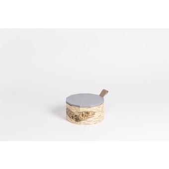 MOYA Nachhaltige Keksdose aus Birkenrinde TUESA | Cookie box T12