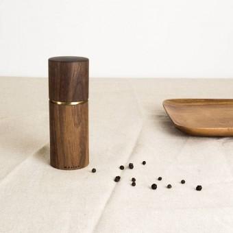 MAXLUZI - Gewürzmühle aus Nussbaumholz