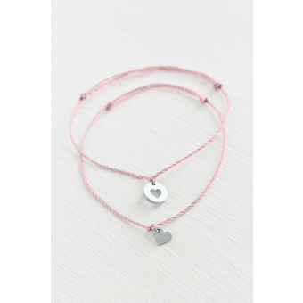Oh Bracelet Berlin - 2er-Set: Armband »Mutter & Tochter für immer« Farbe Silber
