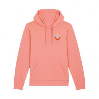 MULINU | UNISEX HOODIE Bio Sunset Orange