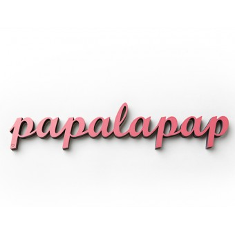 NOGALLERY Papalapap - Deko Schriftzug Holz