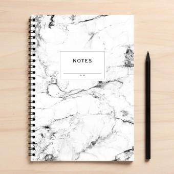 "Amy & Kurt Berlin A5 Notizbuch ""Notes04 Marmor"""