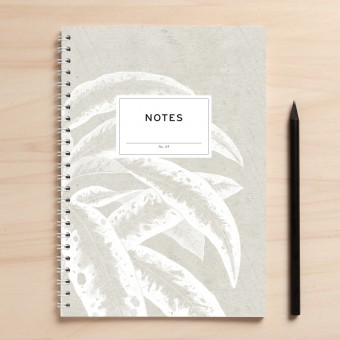 """Amy & Kurt Berlin A5 Notizbuch """"Notes05 weiße Blätter"""""""