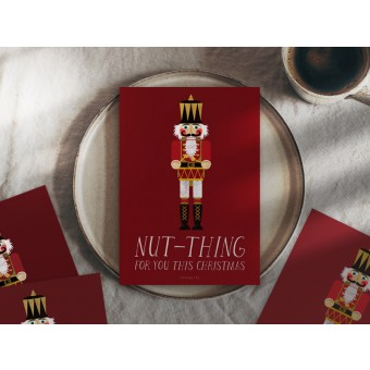 typealive / Weihnachtskarten 4er Set / Nut-Thing
