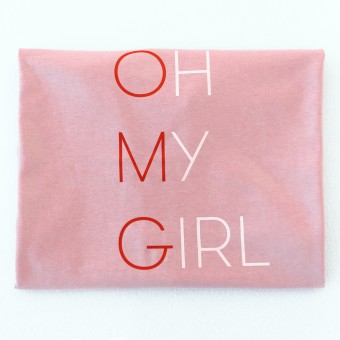 t-shirt OH MY GIRL rosé -  PULS good stuff