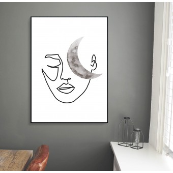 Kruth Design POSTER / MOON FACE
