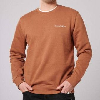 """The Life Barn – """"Out Of Office"""" Sweatshirt Unisex (earth)"""