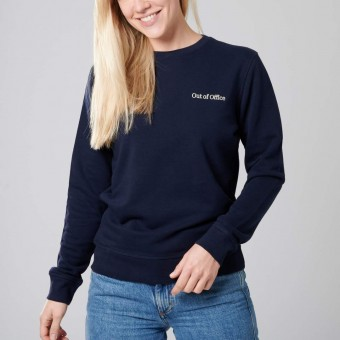 """The Life Barn – """"Out Of Office"""" Sweatshirt Unisex (ocean)"""