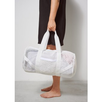 FINSTER Overnightbag white