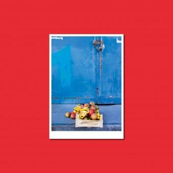 'Äpfel und Bananen' Postkarte, DIN A6, klimaneutral gedruckt / Ankerwechsel Verlag