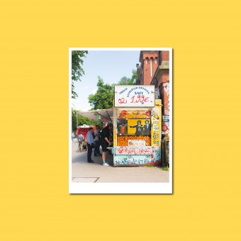 'Obststand' Postkarte, DIN A6, klimaneutral gedruckt / Ankerwechsel Verlag