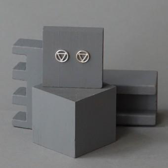 Ohrkreise Nr. 10 - margaritifera - Ohrstecker - Silber 925