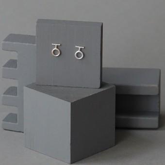 Ohrkreise Nr. 12 - margaritifera - Ohrstecker - Silber 925