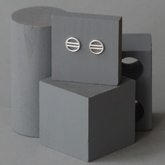 Ohrkreise Nr. 3 - margaritifera - Ohrstecker - Silber 925