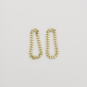 fejn jewelry - Ohrringe 'drop chain'