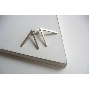 "puur.jewellery Ohrring ""triangle no.3"""