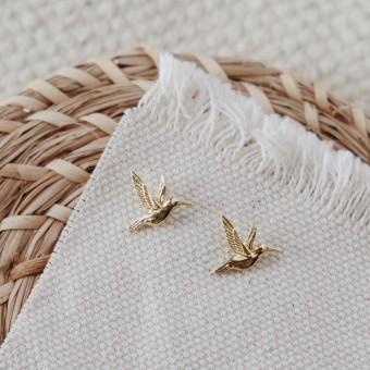 BRASSCAKE // Kolibri Studs