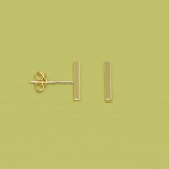 fejn jewelry - Ohrstecker 'bar shiny'
