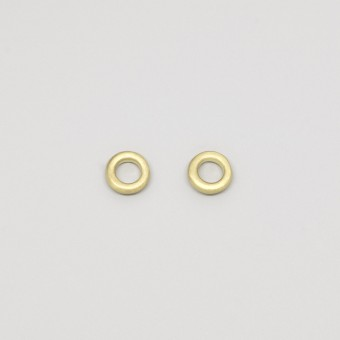 fejn jewelry - Ohrstecker 'circle satin'