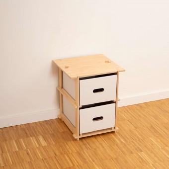 16boxes – Onebytwo (1x2) – Hocker/Nachttisch