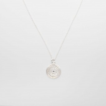 fejn jewelry - Ornament Necklace Silber