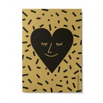 UNTER PINIEN – Herz – Postkarte