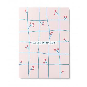 UNTER PINIEN – Alles wird gut – Postkarte