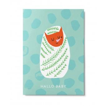 UNTER PINIEN – Hallo Baby – Postkarte